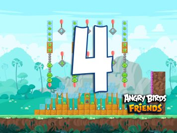 Angry Birds Friends Week 214-B Level 4