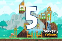 Angry Birds Friends 2016 Tournament 214-B Level 5 Walkthroughs