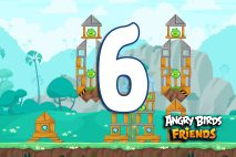 Angry Birds Friends 2016 Tournament 214-B Level 6 Walkthroughs