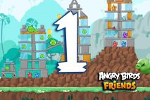 Angry Birds Friends 2016 Tournament 214-A Level 1 Walkthroughs