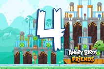 Angry Birds Friends 2016 Tournament 214-A Level 4 Walkthroughs