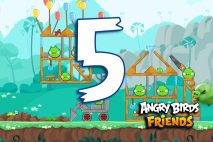 Angry Birds Friends 2016 Tournament 214-A Level 5 Walkthroughs