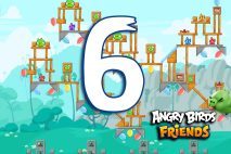 Angry Birds Friends 2016 Tournament 214-A Level 6 Walkthroughs