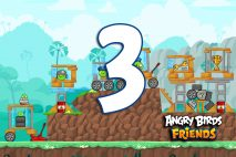 Angry Birds Friends 2016 Tournament 215-A Level 3 Walkthroughs