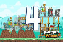 Angry Birds Friends 2016 Tournament 215-A Level 4 Walkthroughs