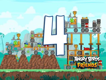 Angry Birds Friends Week 215-A Level 4