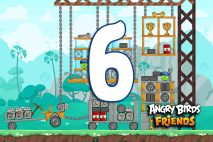 Angry Birds Friends 2016 Tournament 215-A Level 6 Walkthroughs