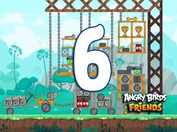 Angry Birds Friends Week 215-A Level 6
