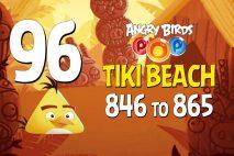 Angry Birds POP! Levels 846 to 865 – Tiki Beach Walkthroughs