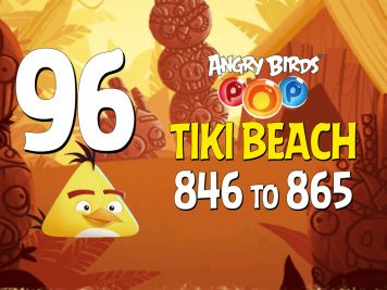 Angry Birds POP! Part 96 - Levels 846 to 865 - Tiki Beach