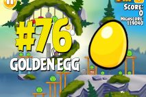 Angry Birds Seasons Summer Camp Golden Egg #76 Walkthrough