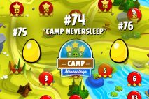 Angry Birds Seasons Summer Camp Golden Eggs Walkthroughs