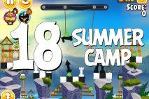 Angry Birds Seasons Summer Camp Level 1-18 Walkthrough