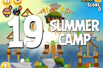 Angry Birds Seasons Summer Camp Level 1-19 Walkthrough