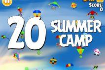 Angry Birds Seasons Summer Camp Level 1-20 Walkthrough
