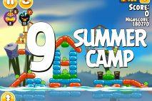 Angry Birds Seasons Summer Camp Level 1-9 Walkthrough
