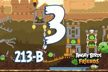 Angry Birds Friends 2016 Knights of the Golden Egg Tournament 213-A Level 3 Walkthroughs