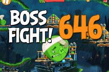 Angry Birds 2 Boss Fight Level 646 Walkthrough – Bamboo Forest Madagooscar