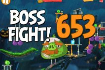 Angry Birds 2 Boss Fight Level 653 Walkthrough – Bamboo Forest Madagooscar