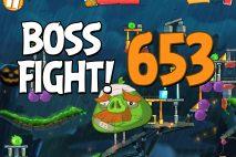 Angry Birds 2 Boss Fight Level 653 Walkthrough – Bamboo Forest Madagooscar