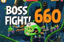 Angry Birds 2 Boss Fight Level 660 Walkthrough – Bamboo Forest Madagooscar