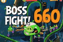 Angry Birds 2 Boss Fight Level 660 Walkthrough – Bamboo Forest Madagooscar