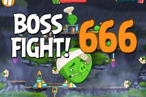 Angry Birds 2 Boss Fight Level 666 Walkthrough – Cobalt Plateaus Hamberg