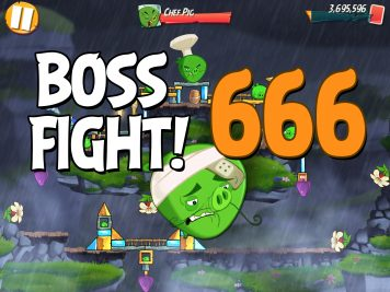 Angry Birds 2 Boss Fight Level 666