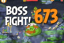Angry Birds 2 Boss Fight Level 673 Walkthrough – Cobalt Plateaus Hamberg