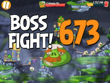 Angry Birds 2 Boss Fight Level 673