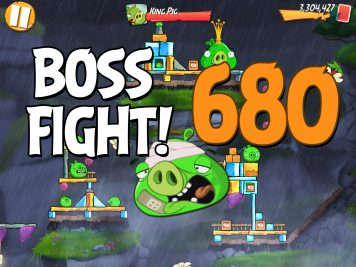 Angry Birds 2 Boss Fight Level 680