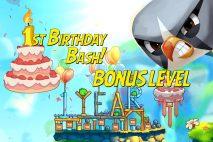 Angry Birds 2 First Birthday Bash Bonus Level Walkthrough