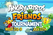 Angry Birds Friends 2016 Tournament 216-B On Now!