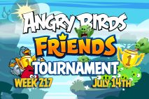 Angry Birds Friends 2016 Tournament 217 On Now!