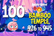 Angry Birds POP! Levels 926 to 945 – Bamboo Temple Walkthroughs