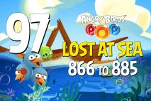 Angry Birds POP! Levels 866 to 885 – Lost At Sea Walkthroughs