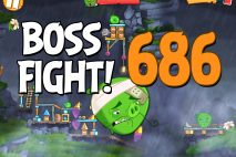 Angry Birds 2 Boss Fight Level 686 Walkthrough – Cobalt Plateaus Hamberg
