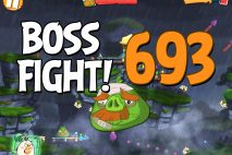 Angry Birds 2 Boss Fight Level 693 Walkthrough – Cobalt Plateaus Hamberg