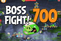 Angry Birds 2 Boss Fight Level 700 Walkthrough – Cobalt Plateaus Hamberg