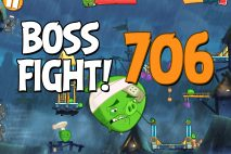 Angry Birds 2 Boss Fight Level 706 Walkthrough – Pig City Oinklahoma