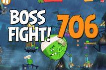 Angry Birds 2 Boss Fight Level 706 Walkthrough – Pig City Oinklahoma