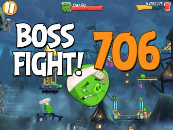 Angry Birds 2 Boss Fight Level 706