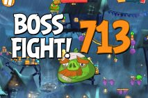 Angry Birds 2 Boss Fight Level 713 Walkthrough – Pig City Oinklahoma