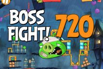 Angry Birds 2 Boss Fight Level 720 Walkthrough – Pig City Oinklahoma