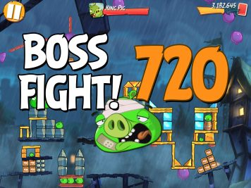 Angry Birds 2 Boss Fight Level 720