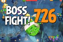 Angry Birds 2 Boss Fight Level 726 Walkthrough – Pig City Oinklahoma