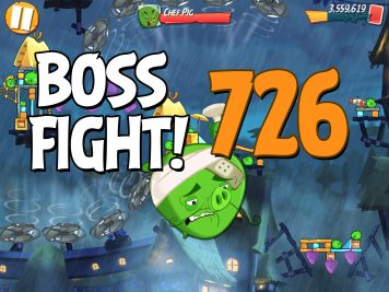 Angry Birds 2 Boss Fight Level 726