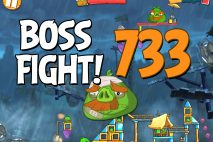 Angry Birds 2 Boss Fight Level 733 Walkthrough – Pig City Oinklahoma