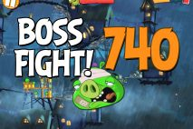 Angry Birds 2 Boss Fight Level 740 Walkthrough – Pig City Oinklahoma