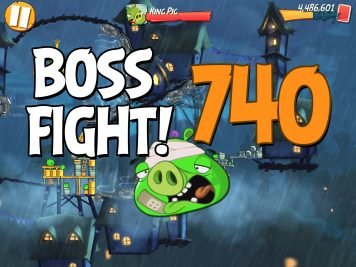 Angry Birds 2 Boss Fight Level 740